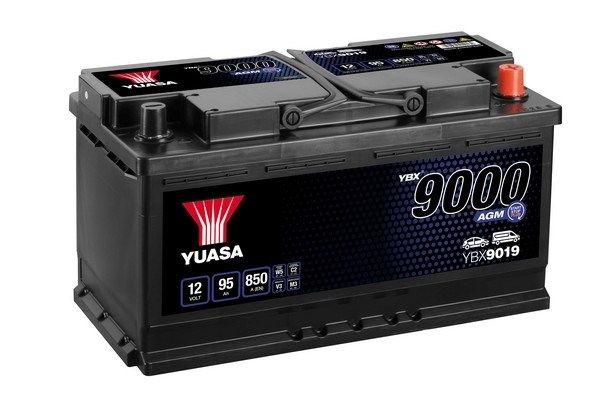 YUASA YBX9000 YBX9019 Starterbatterie