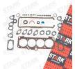 STARK Dichtungssatz, Zylinderkopf SKGSC-0510005 für AUDI 100 (44, 44Q, C3) 1.8 ab Baujahr 02.1986, 88 PS