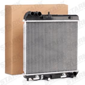 Радиатор, охлаждане на двигателя SKRD-0120080 Jazz 2 (GD_, GE3, GE2) 1.2 i-DSI (GD5, GE2) Г.П. 2003