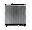 STARK Radiador refrigeración del motor SUZUKI Aluminio, Aletas refrigeración soldadas