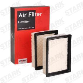Luftfilter Länge: 190mm, Breite: 140mm mit OEM-Nummer 030198620