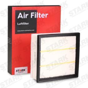 Luftfilter Länge: 213.0mm, Breite: 202.5mm, Höhe: 63.0mm mit OEM-Nummer 95513087