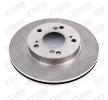 Discos de freno STARK 7857128 Ventilación interna, sin buje de rueda, sin perno de sujeción de rueda