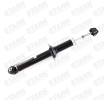 Amortiguador STARK 7857211 Eje trasero, Presión de gas, Amortiguador con asiento de muelle, Anillo inferior, Espiga arriba
