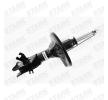 Amortiguador STARK 7857225 Eje delantero, izquierda, Bitubular, Presión de gas, Columna de amortiguador, Abrazadera abajo, Espiga arriba