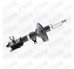 Amortiguador STARK 7857226 Eje delantero, izquierda, Bitubular, Presión de gas, Columna de amortiguador, Espiga arriba, Puente abajo