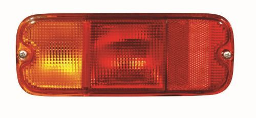 ABAKUS  218-1959L-LD-UE Combination Rearlight Red, for left-hand drive vehicles