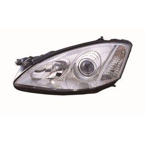 Hauptscheinwerfer für Fahrzeuge mit Leuchtweiteregelung (elektrisch), für Rechtsverkehr mit OEM-Nummer 221 820 19 61