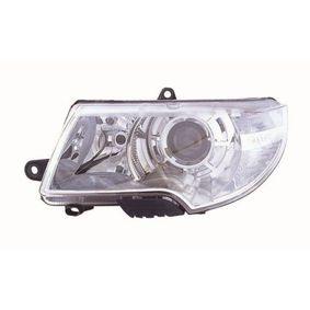 Hauptscheinwerfer für Fahrzeuge mit Leuchtweiteregelung (elektrisch), chrom mit OEM-Nummer 3T1 941 017 C