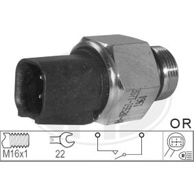 Switch, reverse light Number of connectors: 2 with OEM Number 3S7T 15520 AB