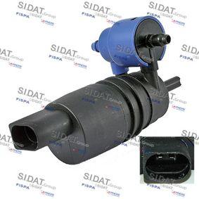 SIDAT  5.5125 Waschwasserpumpe, Scheibenreinigung Anschlussanzahl: 2