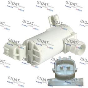 Water Pump, window cleaning Number of connectors: 2 with OEM Number 8-97314-350-0