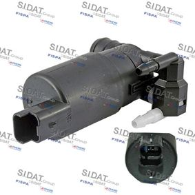 Water Pump, window cleaning Voltage: 12V, Number of connectors: 2 with OEM Number 93 160 293