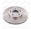 STARK Brake discs and rotors SSANGYONG Front Axle, Vented