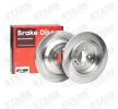Brake disc kit MERCEDES-BENZ M-Class (W164) 2012 year 7861857 STARK Rear Axle, Solid, without wheel hub, without wheel studs