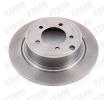 Brake disc kit JEEP COMPASS (MK49) 2006 year 7861910 STARK Rear Axle, Solid