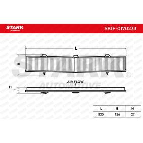 Filter, Innenraumluft SKIF-0170233 3 Limousine (E90) 320d 2.0 Bj 2007