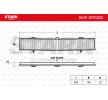 Filtro de aire acondicionado STARK 7862226 Cartucho filtrante, Filtro de partículas