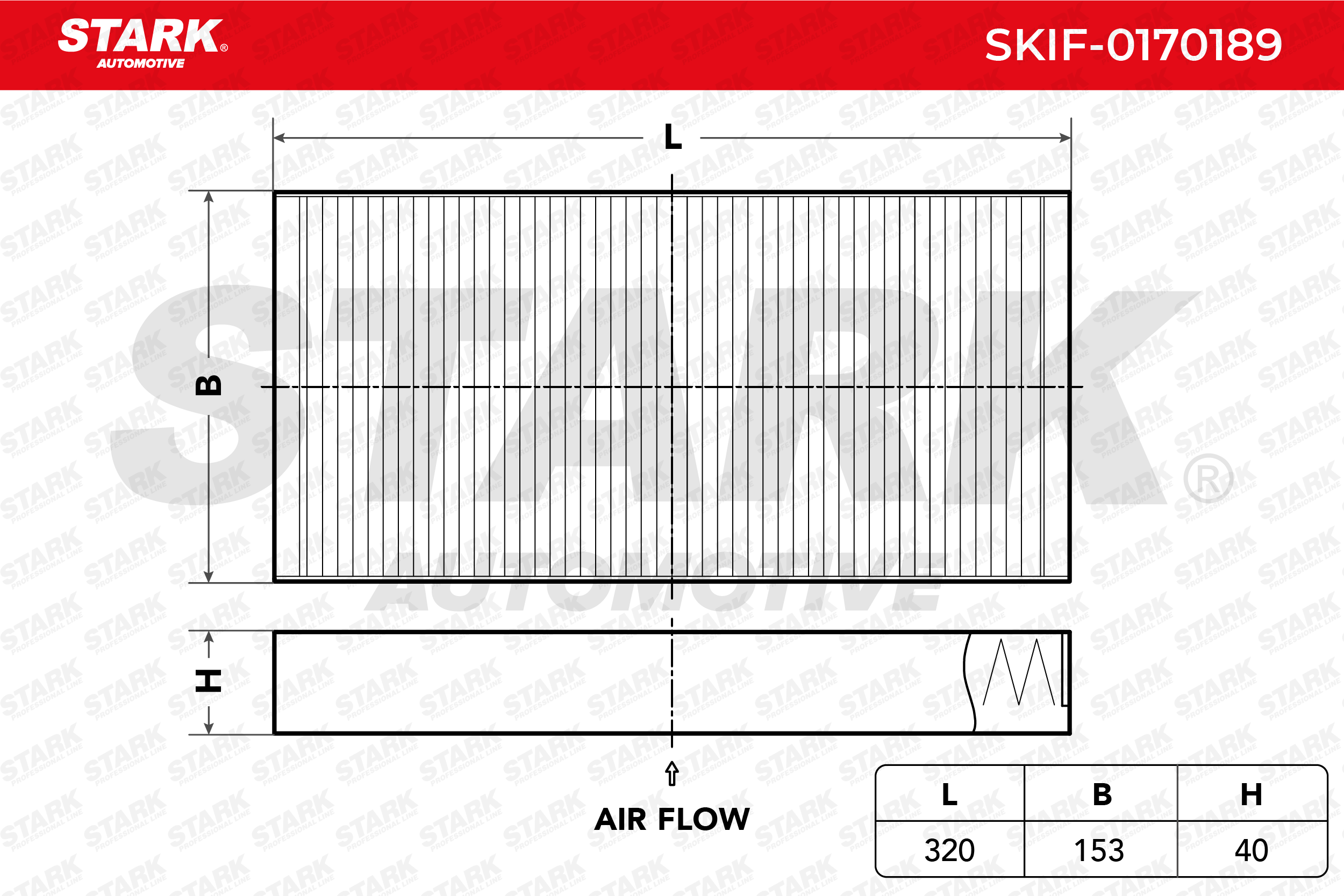 Staubfilter STARK SKIF-0170189 Erfahrung