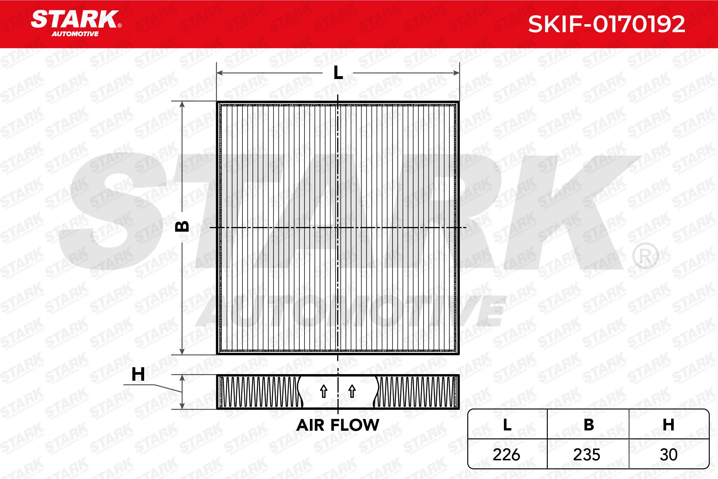 STARK Filtro, ar do habitáculo SKIF-0170192