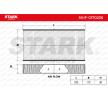 Cabin filter HONDA CR-V 2 (RD) 2002 year 7862412 STARK Charcoal Filter