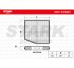 Filtro de aire acondicionado STARK 7862414 Filtro de carbón activado