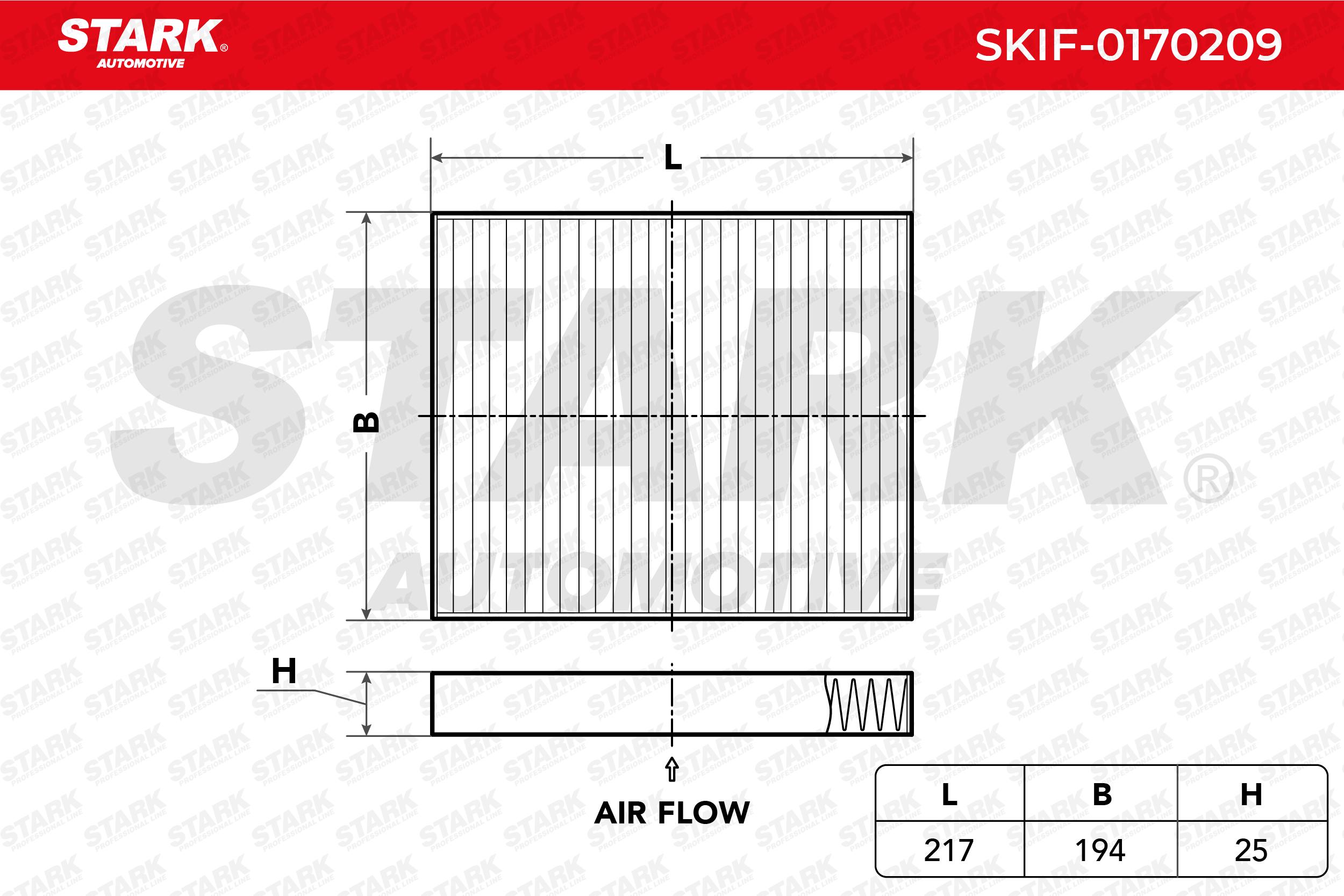 Innenraumfilter SKIF-0170209 STARK SKIF-0170209 in Original Qualität