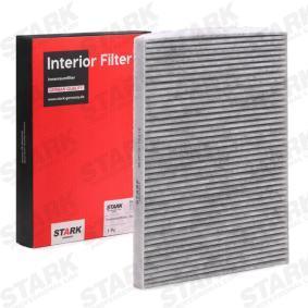 Filter, Innenraumluft Länge: 294mm, Breite: 227mm, Höhe: 20mm mit OEM-Nummer 60814643