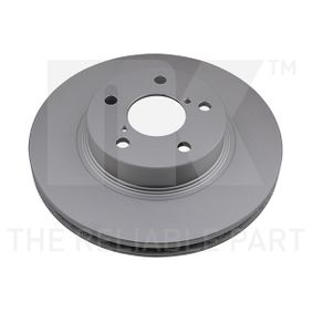 Bremsscheibe Bremsscheibendicke: 24,00mm, Felge: 5,00-loch, Ø: 260mm mit OEM-Nummer 26310-AA021