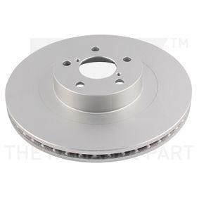 Bremsscheibe Bremsscheibendicke: 24,00mm, Felge: 5,00-loch, Ø: 294mm mit OEM-Nummer 26300-FE010