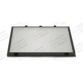 CHAMPION  CCF0260 Filter, interior air Length: 384mm, Width: 253mm, Height: 25mm