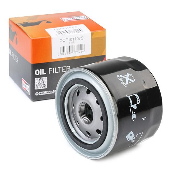 Oil Filter CHAMPION COF101107S expert knowledge
