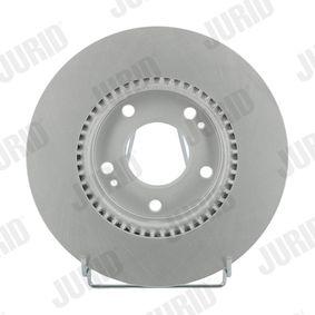 Bremsscheibe Bremsscheibendicke: 26mm, Lochanzahl: 5, Ø: 280mm mit OEM-Nummer 51712 1F300