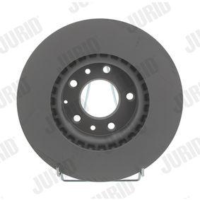 Bremsscheibe Bremsscheibendicke: 25mm, Lochanzahl: 5, Ø: 299mm mit OEM-Nummer G33Y-33-25XA