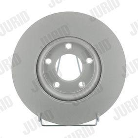 Brake Disc Brake Disc Thickness: 25mm, Num. of holes: 5, Ø: 300mm with OEM Number C26Y 33 25XB