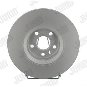 Bremsscheibe Bremsscheibendicke: 28mm, Lochanzahl: 5, Ø: 316mm mit OEM-Nummer 86 60 001 815