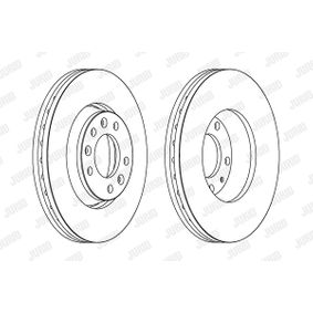 Brake Disc Brake Disc Thickness: 28mm, Num. of holes: 5, Ø: 280mm with OEM Number SU001 A1064