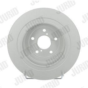 JURID  562876JC Bremsscheibe Bremsscheibendicke: 10mm, Lochanzahl: 5, Ø: 290mm