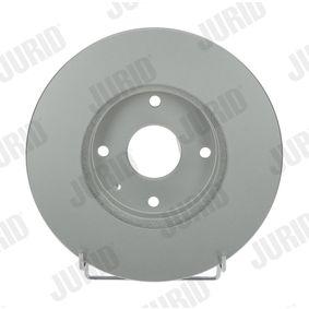 Bremsscheibe Bremsscheibendicke: 24mm, Lochanzahl: 4, Ø: 277,8mm mit OEM-Nummer 96 329 364