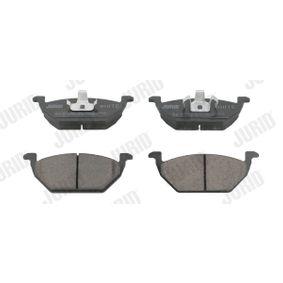 Bremsbelagsatz, Scheibenbremse Höhe 1: 54,7mm, Dicke/Stärke: 19,7mm mit OEM-Nummer 2Q0698151