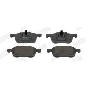 Bremsbelagsatz, Scheibenbremse Höhe 1: 72mm, Höhe 2: 69mm, Dicke/Stärke: 18,6mm mit OEM-Nummer 30793231