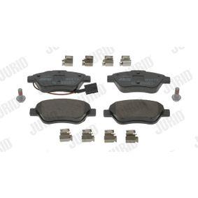 Bremsbelagsatz, Scheibenbremse Höhe 1: 53,3mm, Dicke/Stärke: 17,1mm mit OEM-Nummer 71770118
