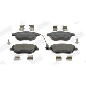 Bremsbelagsatz, Scheibenbremse Höhe 1: 57,4mm, Dicke/Stärke: 18,4mm mit OEM-Nummer 16 05 157