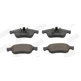 Bremsbelagsatz, Scheibenbremse Höhe 1: 65mm, Höhe 2: 59mm, Dicke/Stärke: 18mm mit OEM-Nummer 8660 004 545