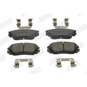Bremsbelagsatz, Scheibenbremse Höhe 1: 60mm, Dicke/Stärke: 19,3mm mit OEM-Nummer 13237753