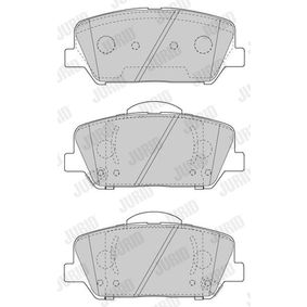 Bremsbelagsatz, Scheibenbremse Höhe 1: 60,1mm, Dicke/Stärke: 18,2mm mit OEM-Nummer 58101 2MA00