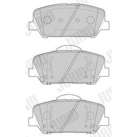 Bremsbelagsatz, Scheibenbremse Höhe 1: 60,1mm, Dicke/Stärke: 18,2mm mit OEM-Nummer 58101-2TA20