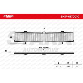 Filter, Innenraumluft SKIF-0170010 1 Schrägheck (E87) 118d 2.0 Bj 2009
