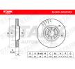 Discos de freno CITROËN C5 3 (RD) 2018 Año 7866550 STARK ventilación externa, sin buje de rueda, sin perno de sujeción de rueda