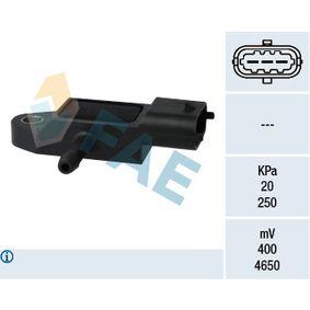 Sensor, Saugrohrdruck 15106 CLIO 2 (BB0/1/2, CB0/1/2) 1.5 dCi Bj 2010